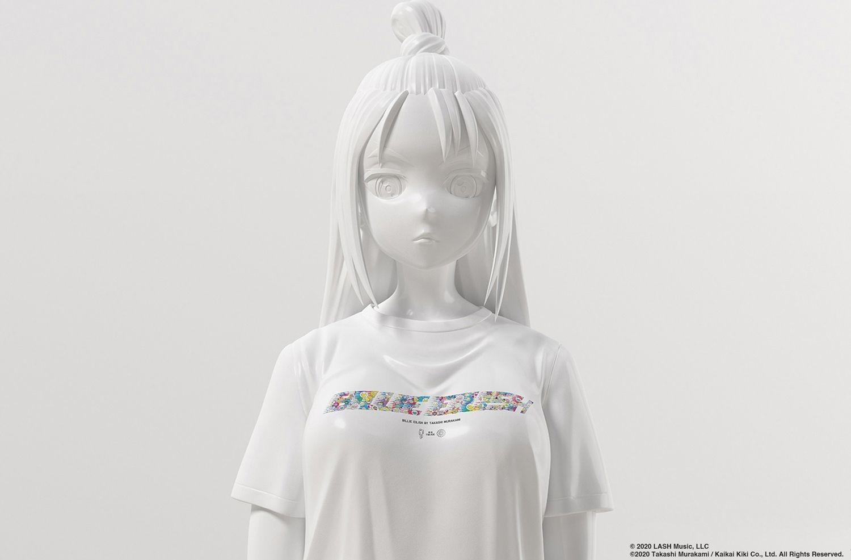 Mẫu áo nằm trong dòng Uniqlo UT kết hợp giữa Uniqlo và Takashi Murakami