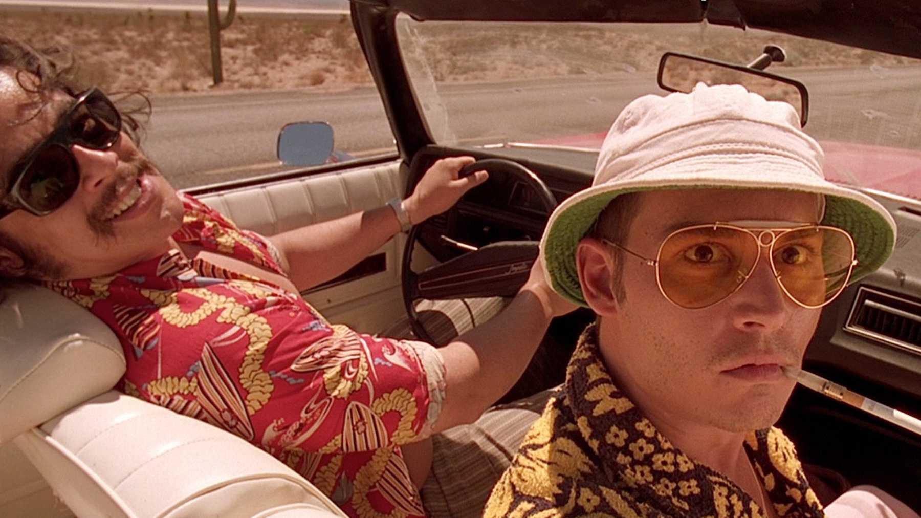 áo hawaii jonny depp trong phim fear and nothing