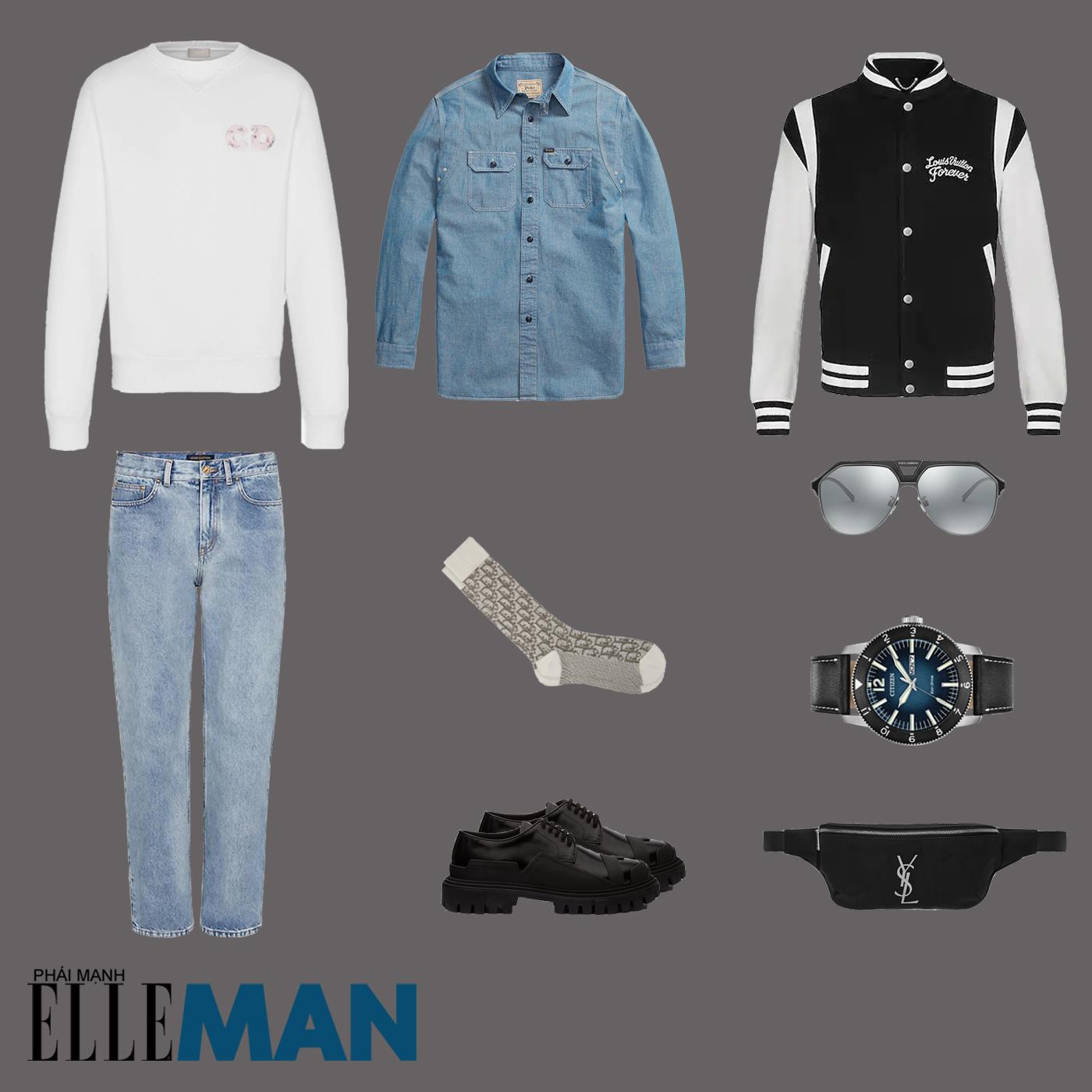 outfit 5 - phối đồ phong cách ametora