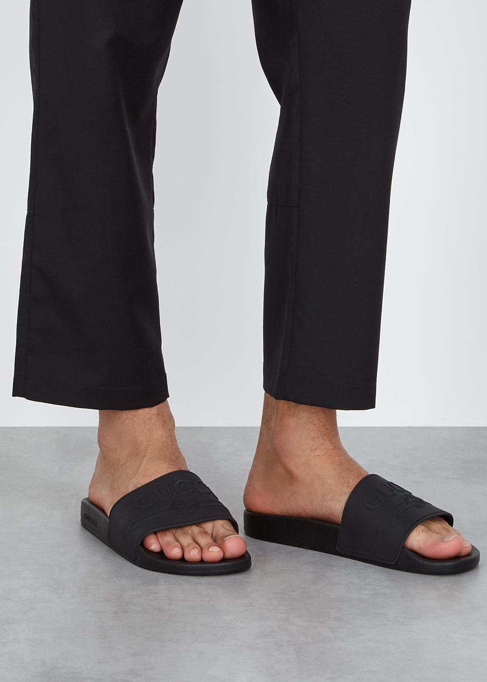 giày sandals dáng slide