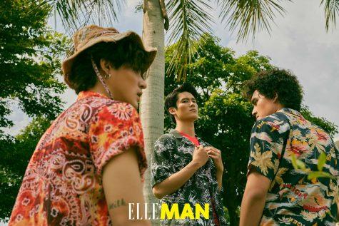 Bộ ảnh thời trang ELLE Man tháng 8/2020: Welcome to our brotherhood