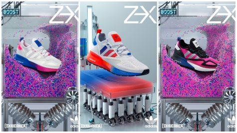 adidas Origianls Feel the ZXience: Bản phối màu đầy táo bạo của ZX 2K BOOST