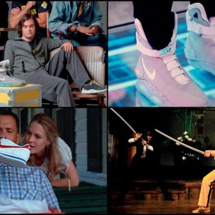 Những đôi giày sneakers huyền thoại trên màn ảnh