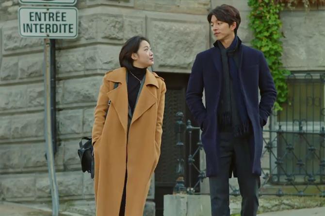 thời trang phim cặp đôi kim go eun & gong yoo