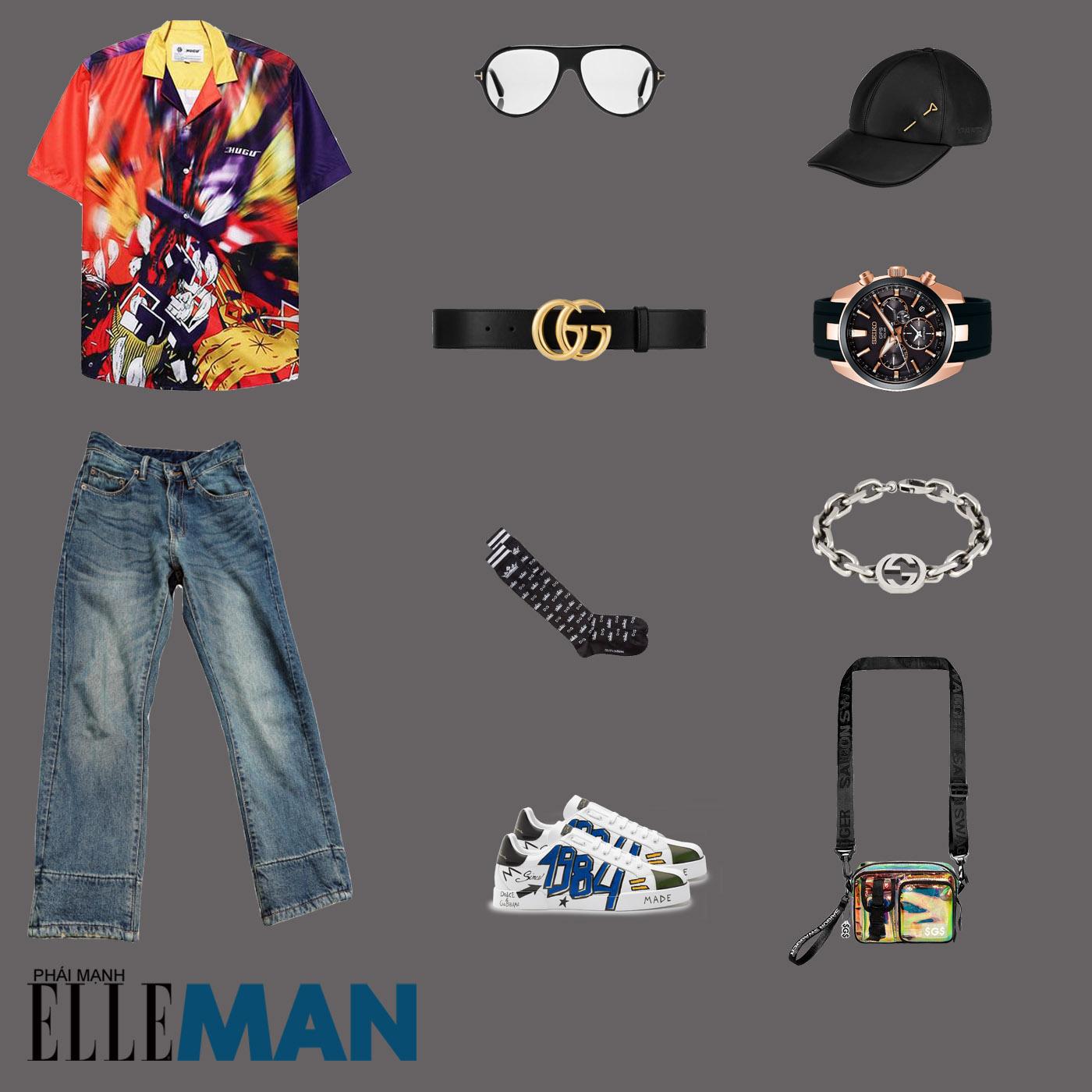 outfit 2 - phối đồ với quần dad jeans