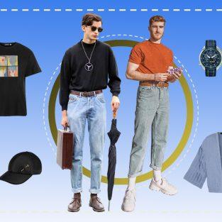 ELLE Man Style Calendar: Tạo điểm nhấn cho phong cách cùng quần dad jeans