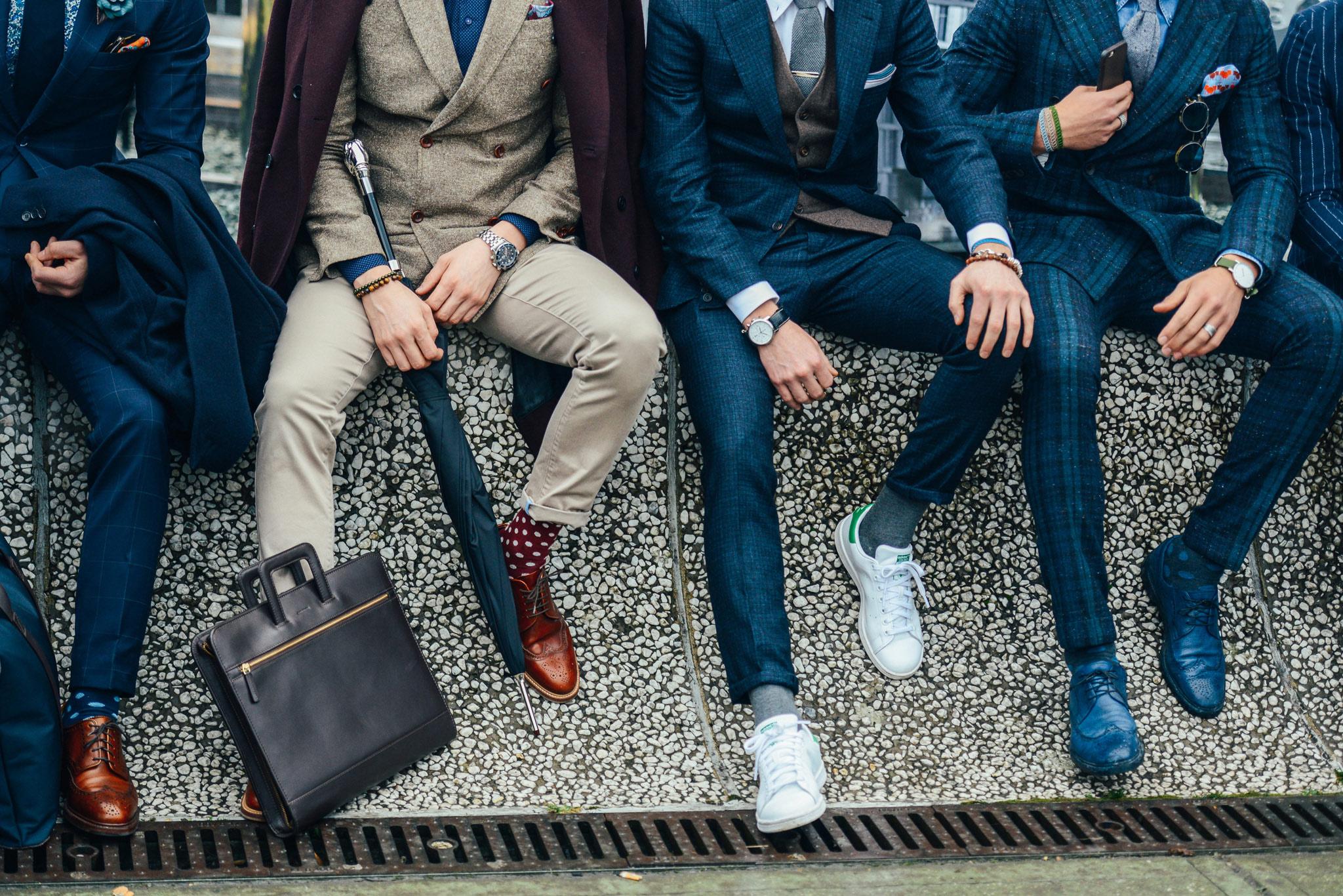 đàn ông đi giày đẹp