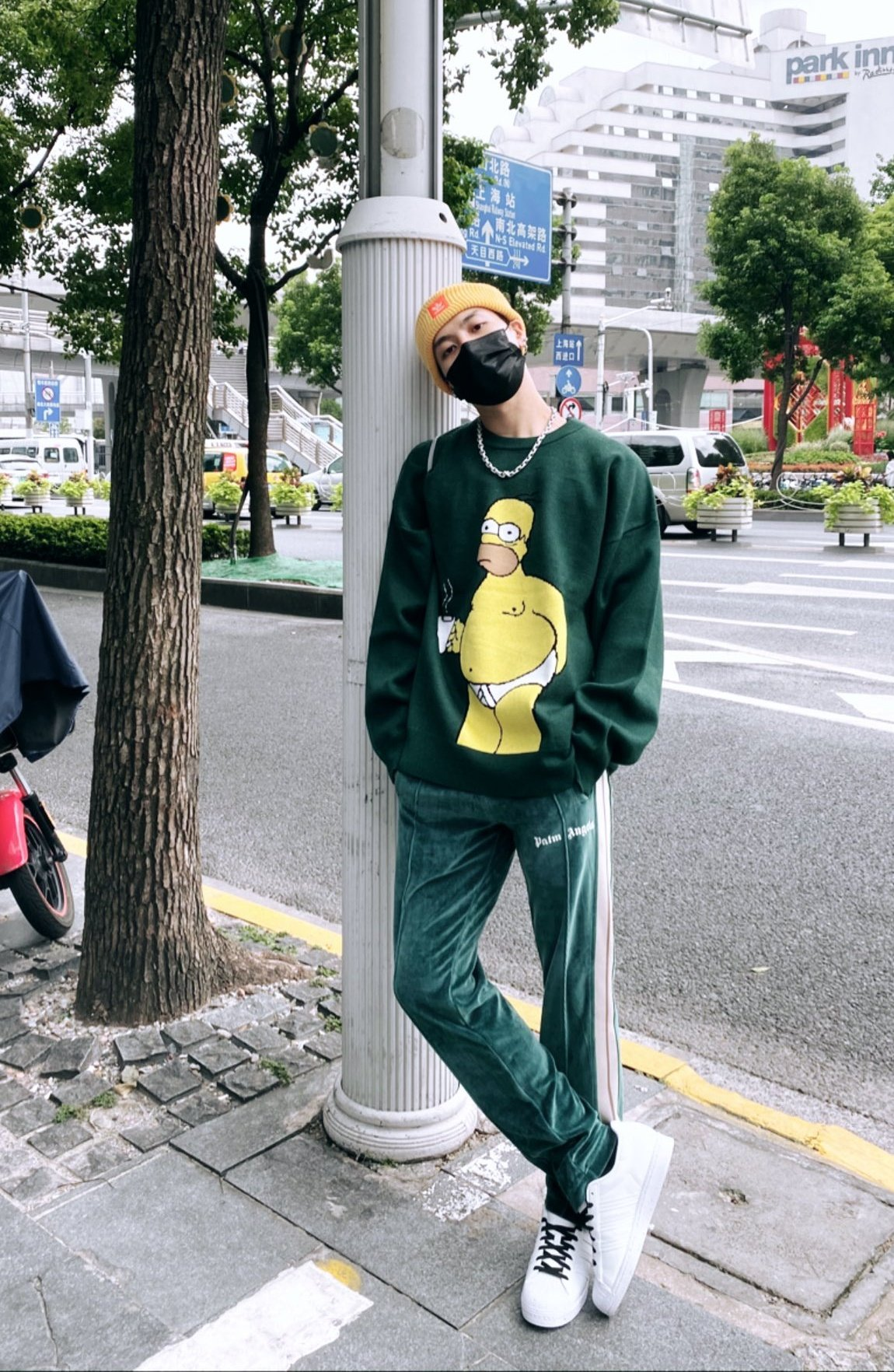 jackson the simpsons adidas - elle man