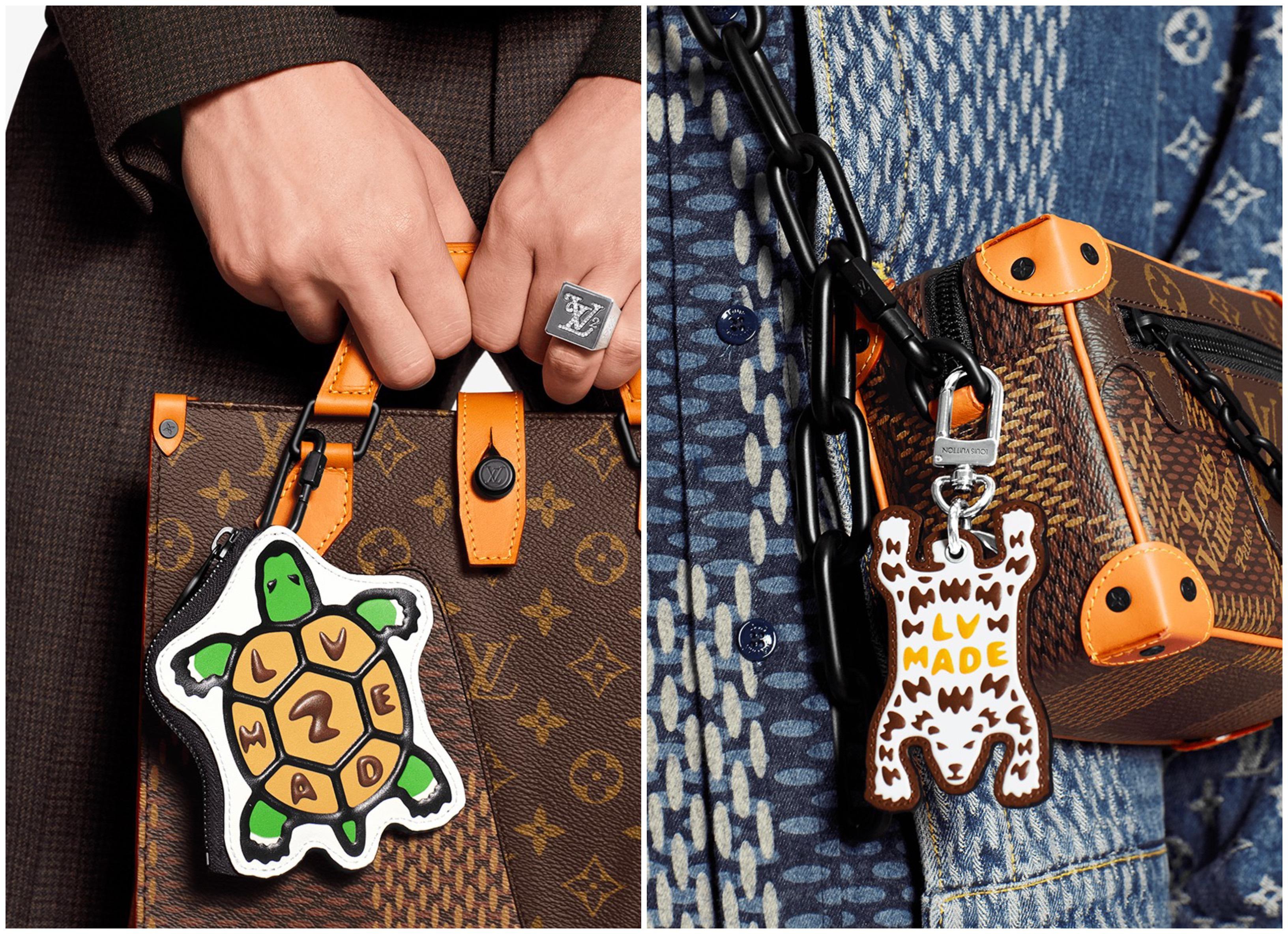 Louis Vuitton bst LV² móc khoá