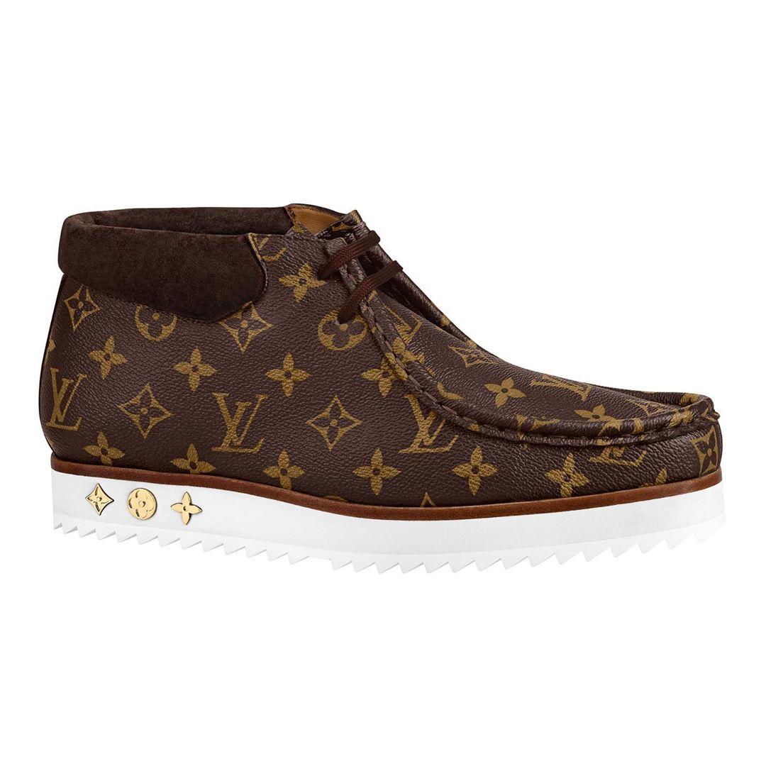 bst LV² giày boots nâu