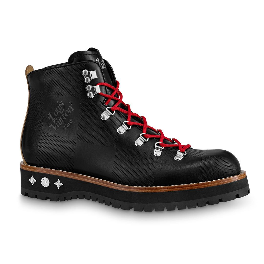 bst LV² giày boots đen