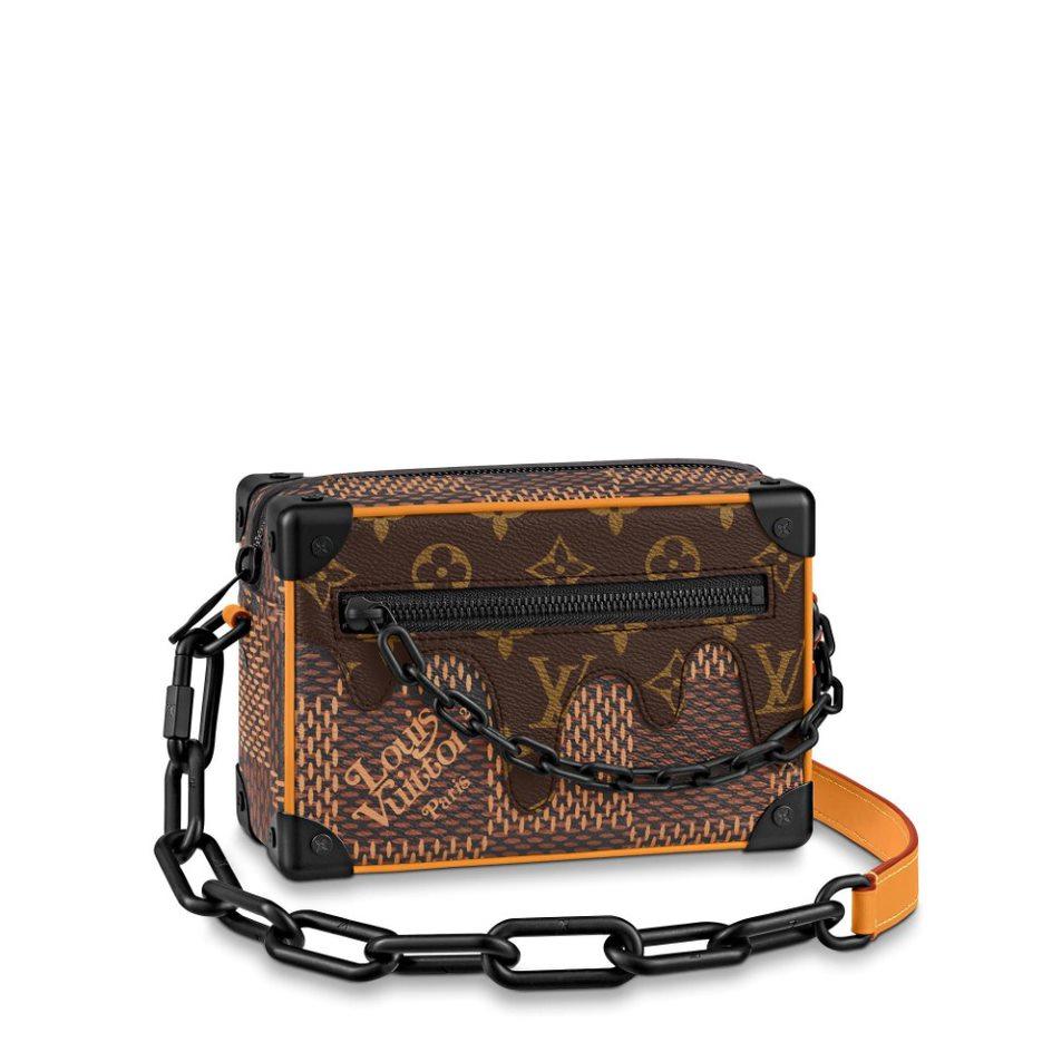 Louis Vuitton bst LV² túi Mini Soft Trunk