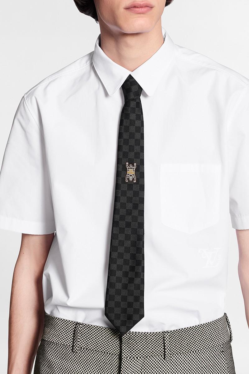 Louis Vuitton bst LV² cà vạt và pin cài