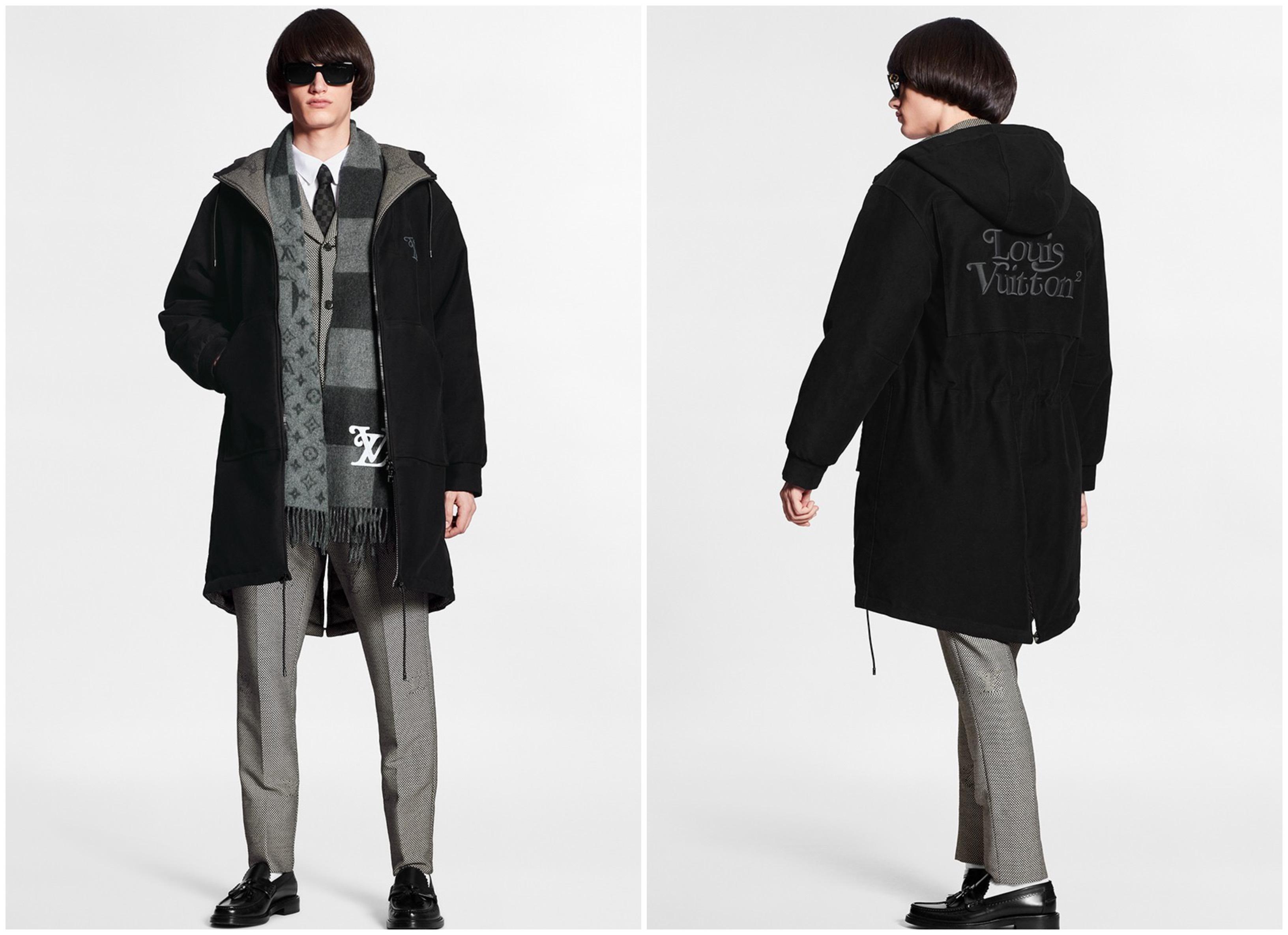 Louis Vuitton bst lv² áo khoác parka