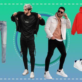 ELLE Man Style Calendar: Muôn cách phối cùng giày sneakers trắng