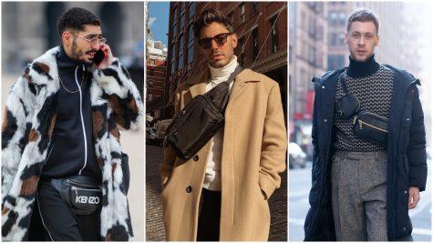 8 cách diện túi đeo chéo fanny pack thời thượng