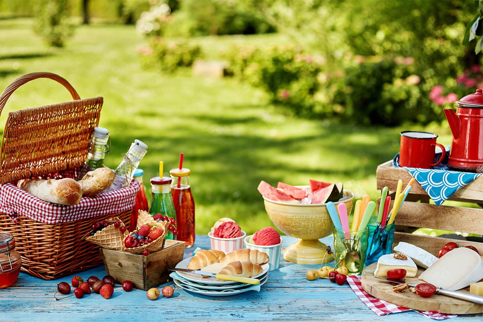 đồ ăn cho picnic
