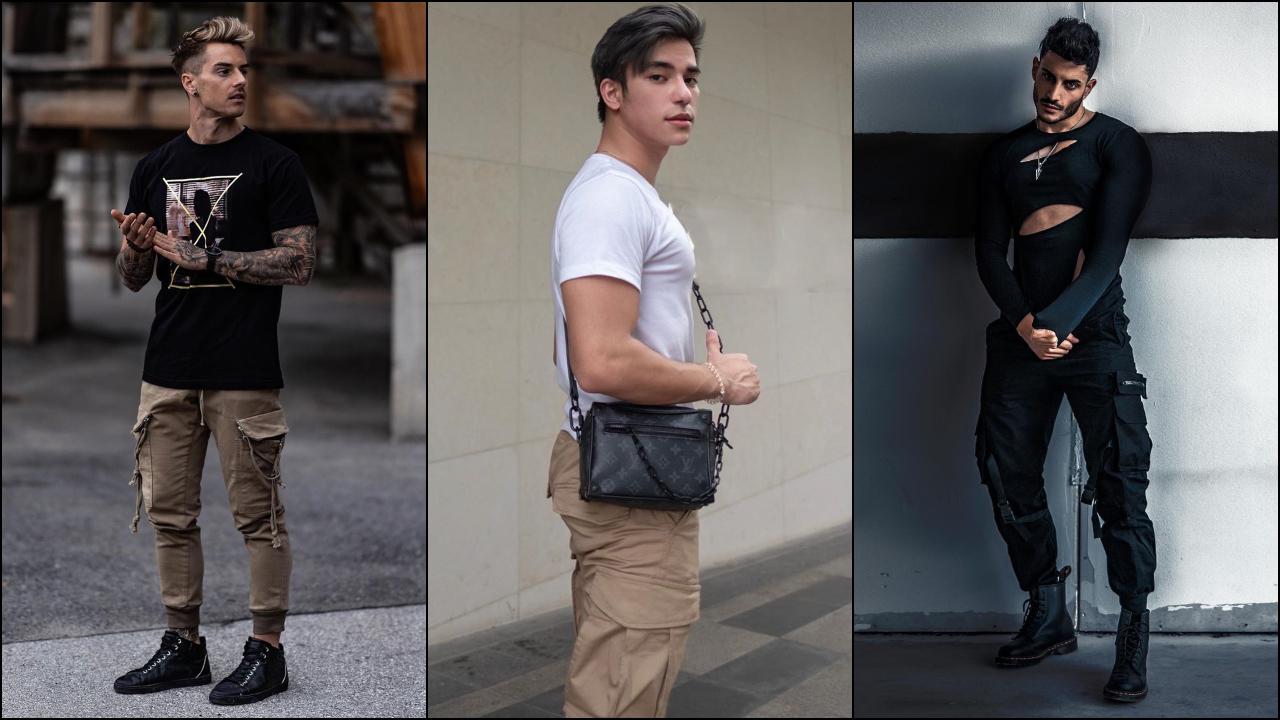 phối đồ với quần túi hộp - jacob và andrei