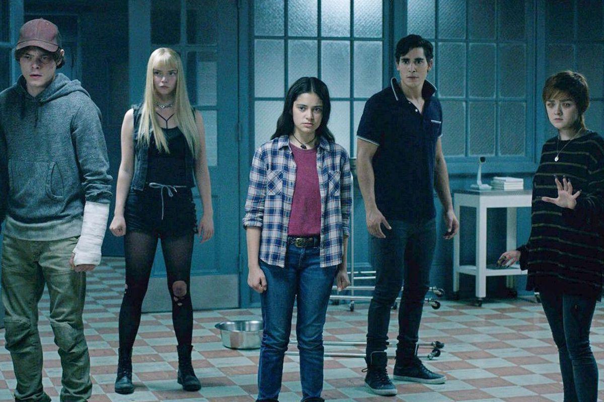 5 nhân vật chinh trong phim the new mutants