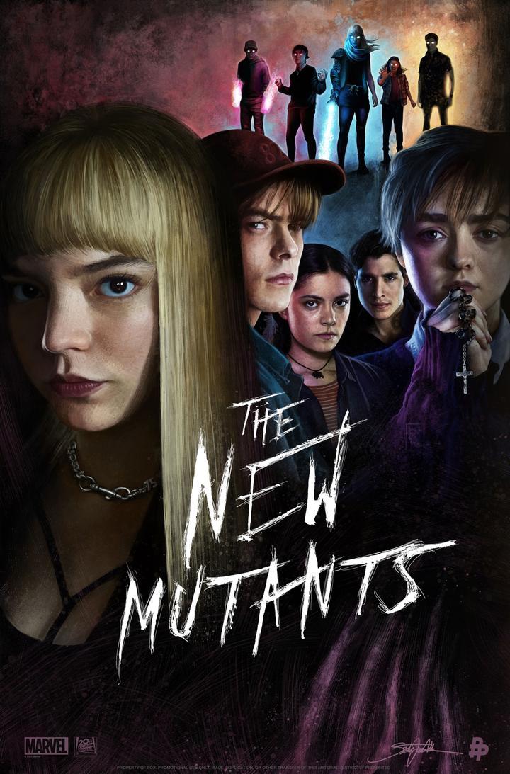 poster phim the new mutants
