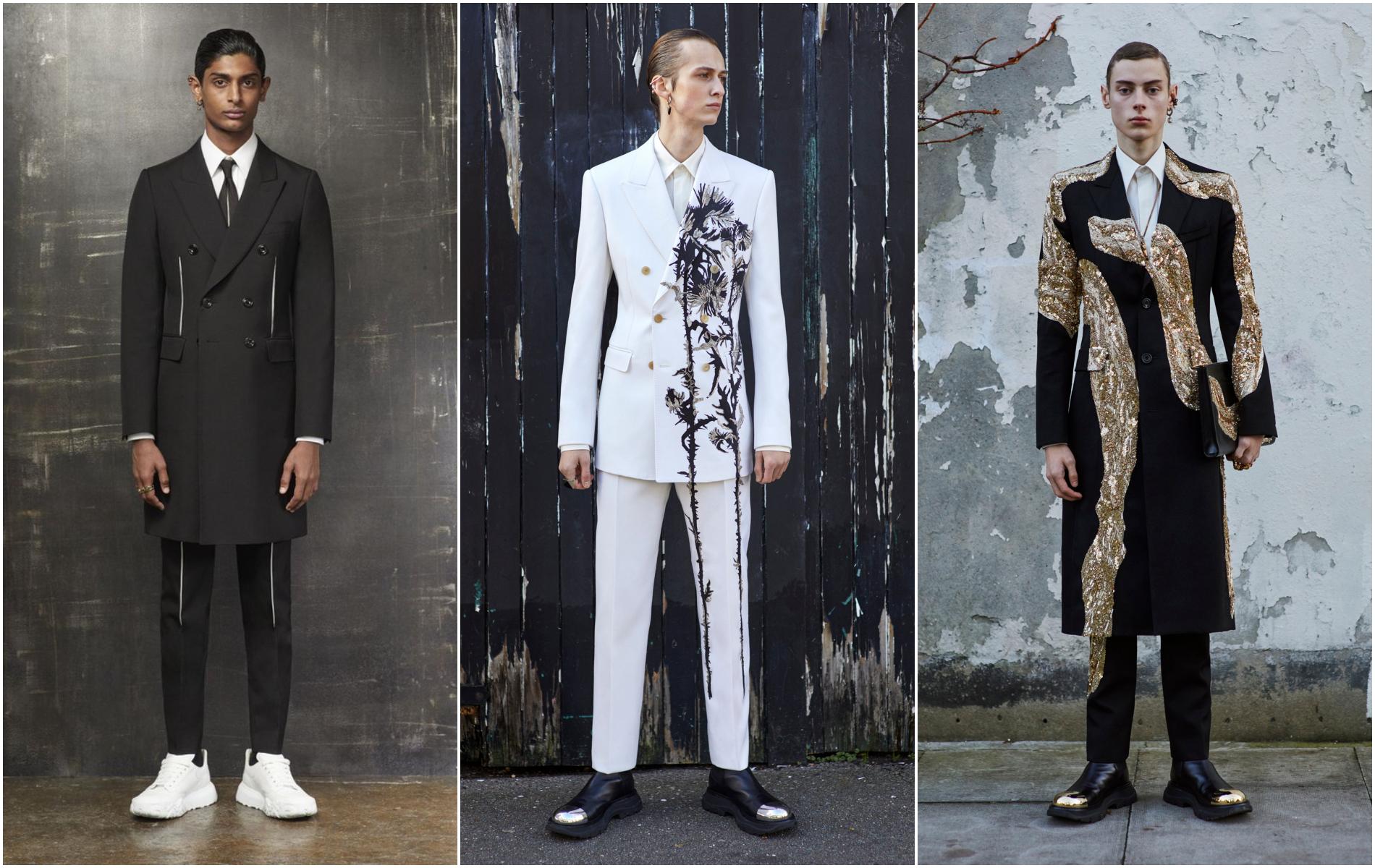 thương hiệu thời trang alexander macqueen bst pre fall 20 cho nam