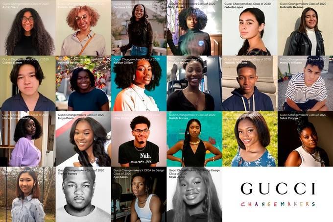 thương hiệu thời trang gucci trao 20 suất học bổng 2020