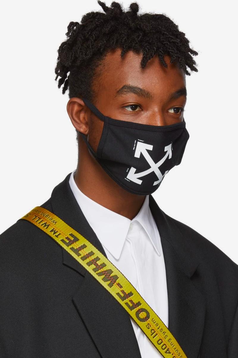 thương hiệu thời trang off-white face mask model