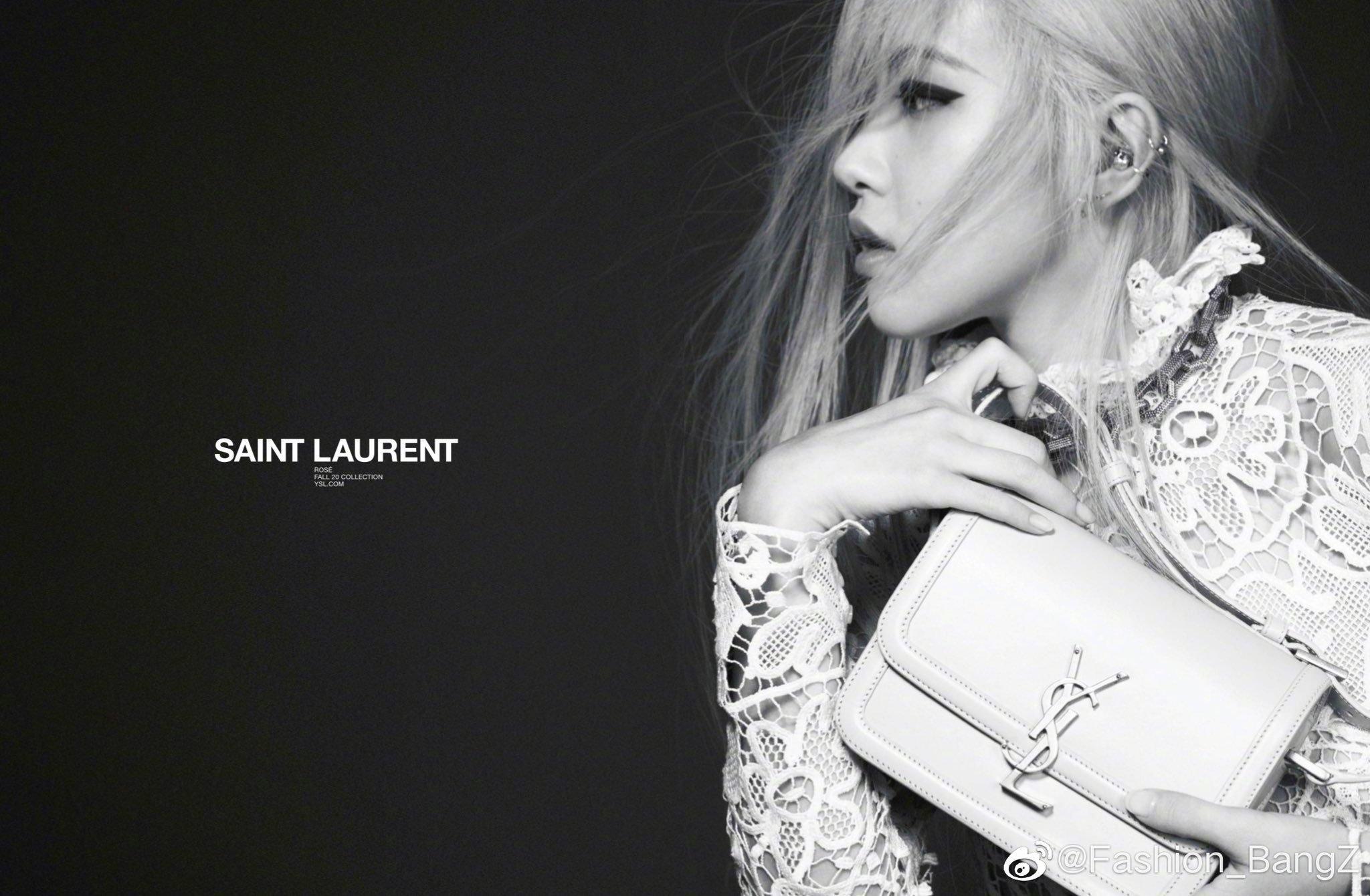 thương hiệu thời trang đại sứ rose của saint laurent
