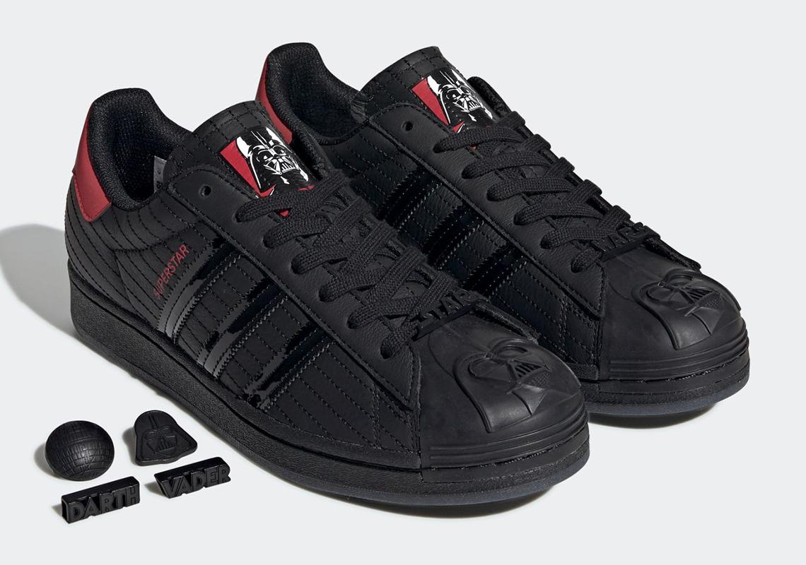 """giày thể thao (14-20.9.2020-Superstar """"Darth Vader""""Jp-elleman (10)"""