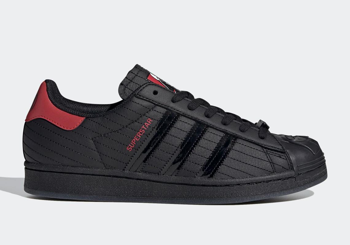 """giày thể thao (14-20.9.2020-Superstar """"Darth Vader""""Jp-elleman (12)"""