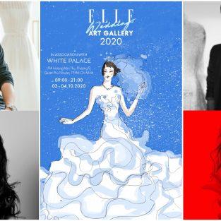 ELLE Wedding Art Gallery 2020 tái khởi động sau dịch Covid-19