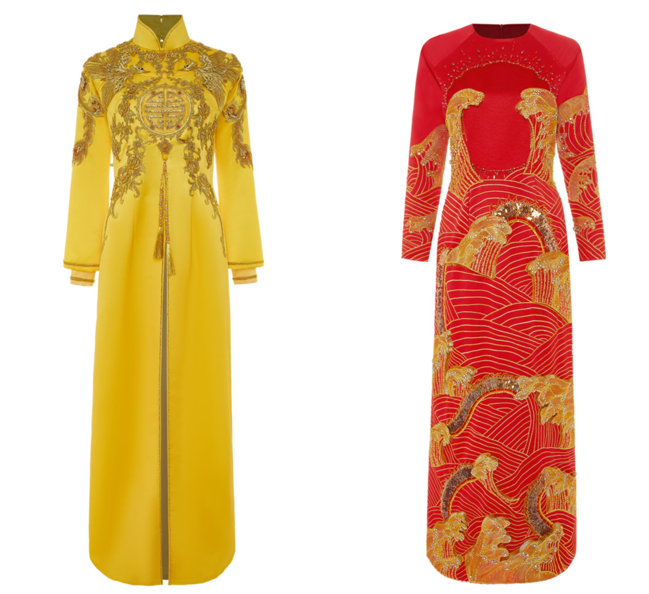 thiết kế áo cưới của ntk thủy nguyễn