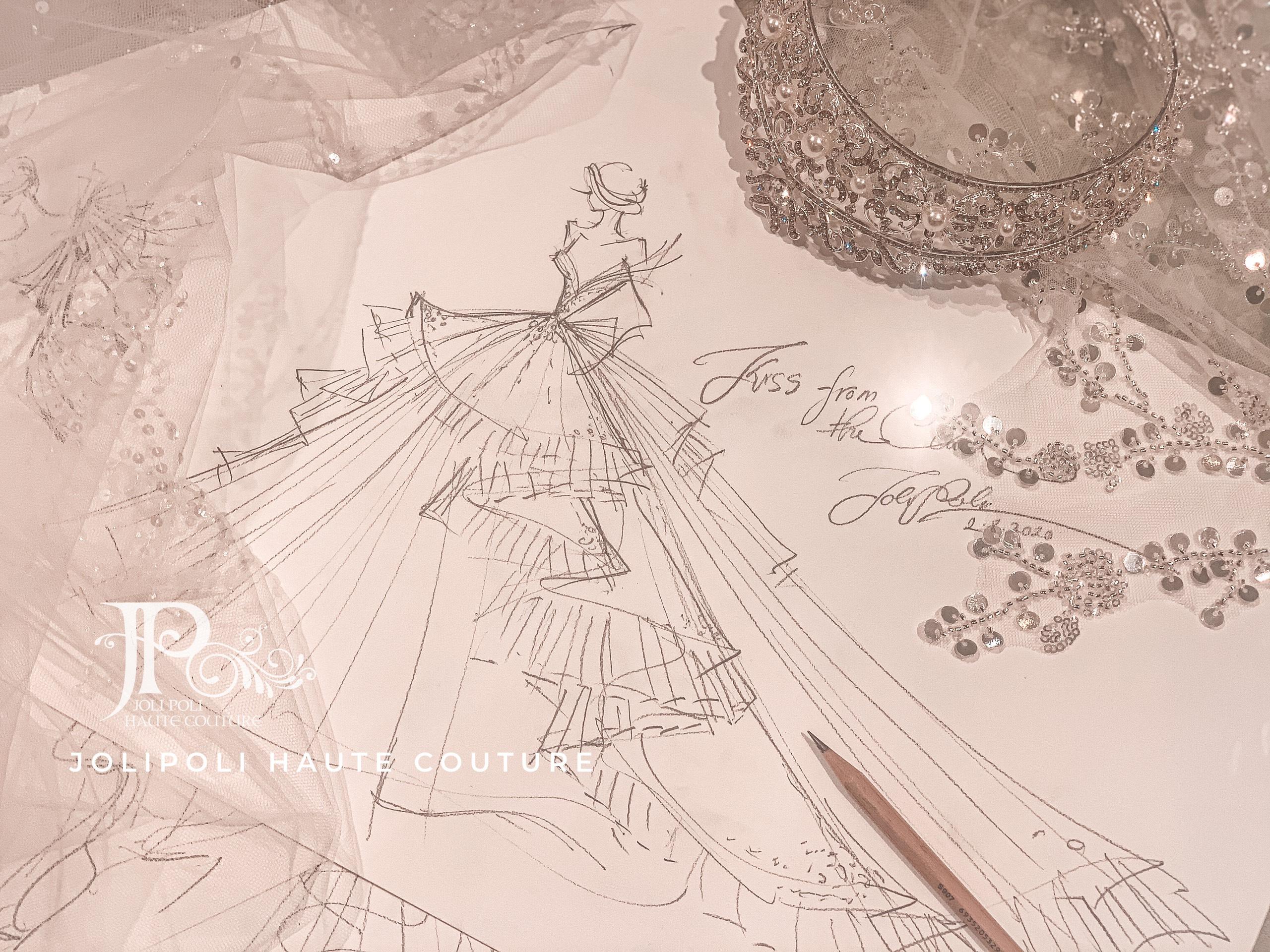 thiết kế áo cưới của nyk phạm đặng anh thư