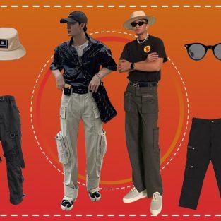 ELLE Man Style Calendar: Mạnh mẽ với quần túi hộp