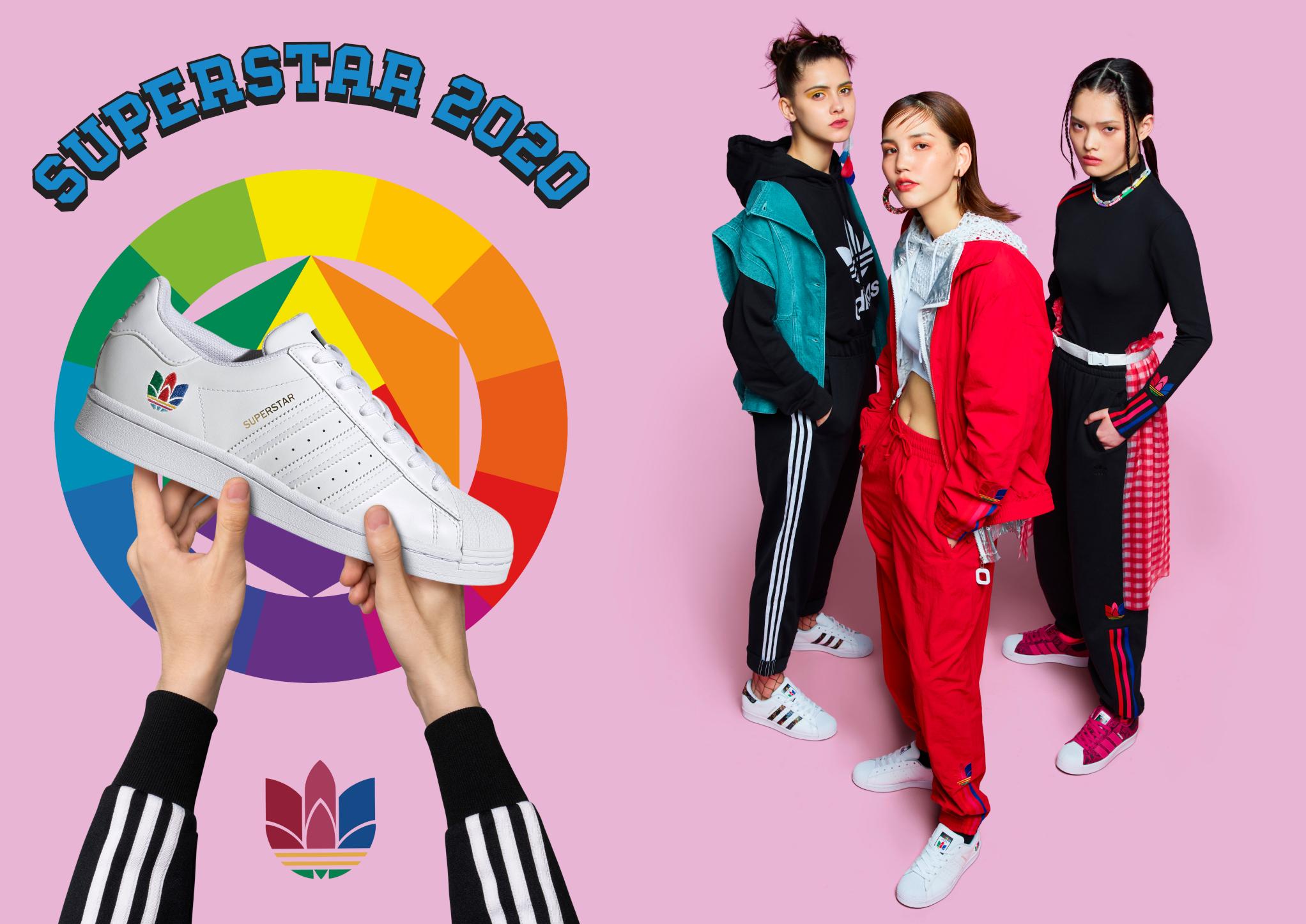 thiết kế adidas superstar 2020 cho nữa nhẹ nhàng