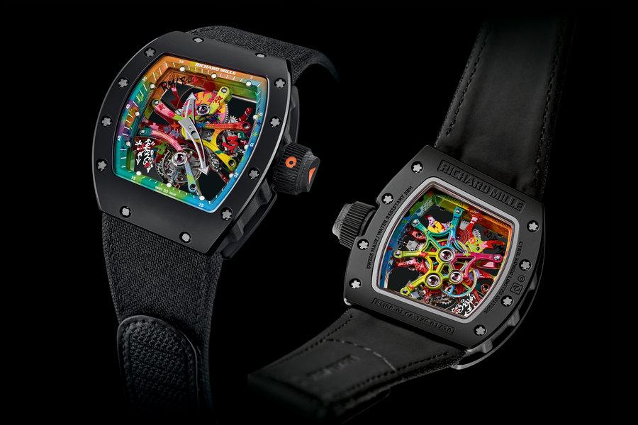 đồng hồ RM 68-01 Tourbillon Cyril Kongo