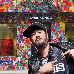 Nghệ sĩ Graffiti gốc Việt Cyril Kongo mở phòng triển lãm tại Hà Nội