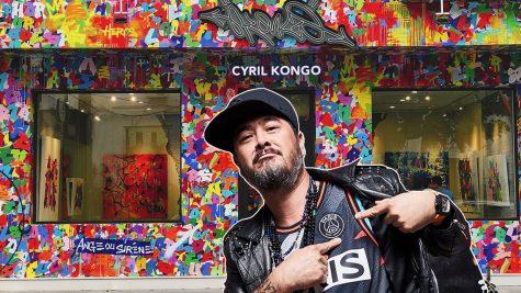 Nghệ sĩ Graffiti gốc Việt Cyril Kongo mở gallery tại Hà Nội