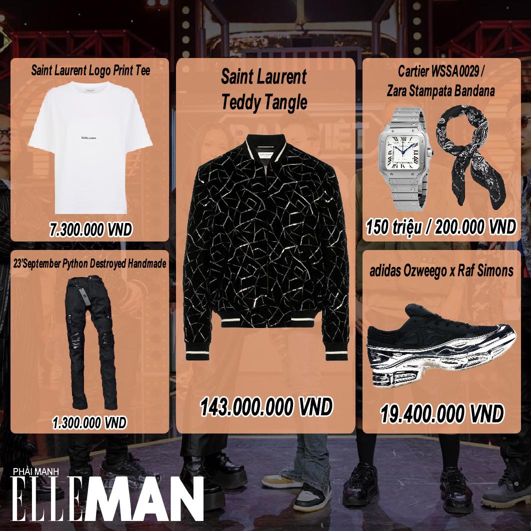 thoi trang rap viet tap 8 - layout outfit - BINZ- elleman