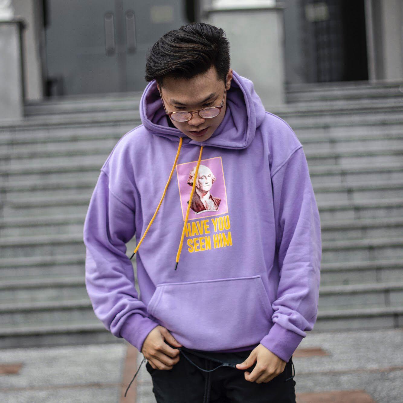phoi do voi ao hoodie nam - maker