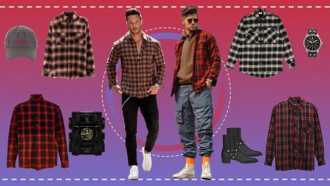 "ELLE Man Style Calendar: Chất ""bụi"" của sơ mi flannel"