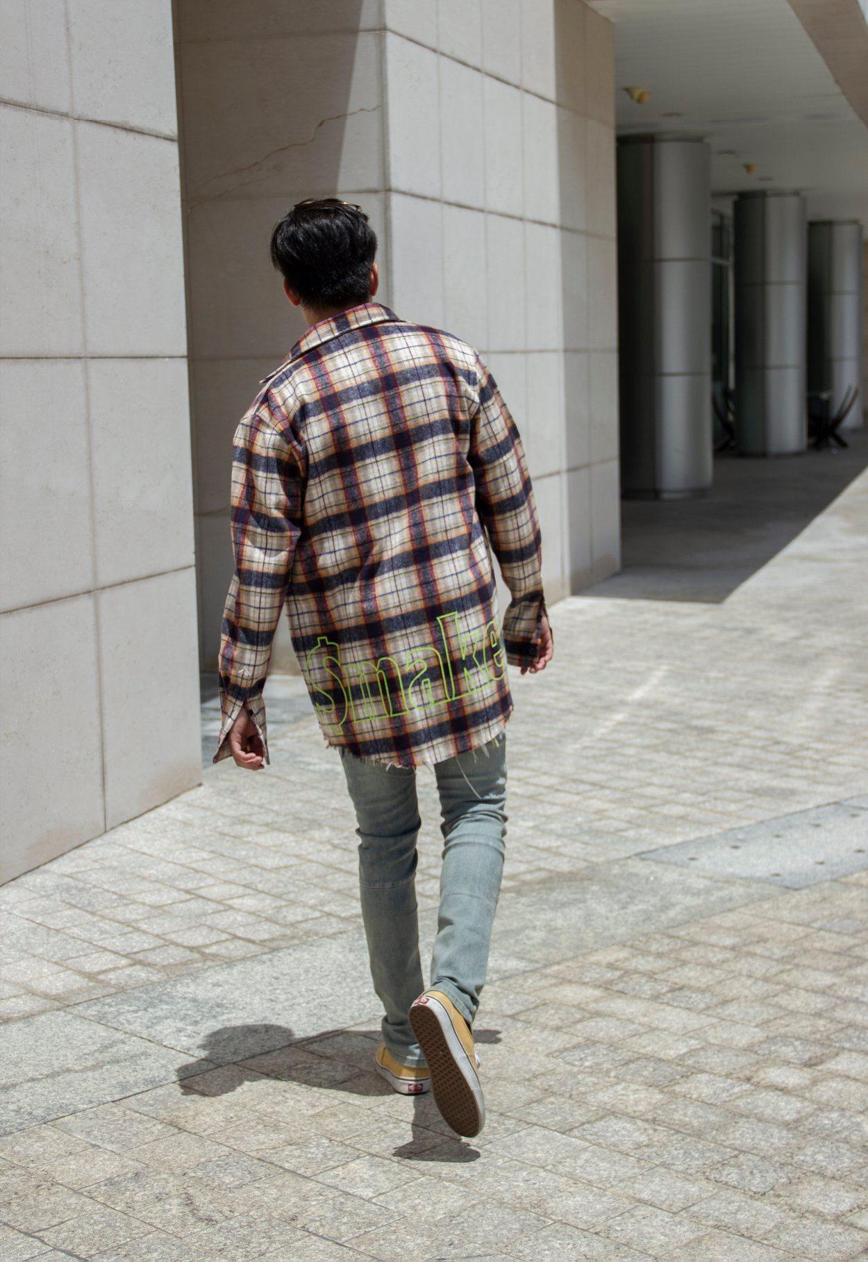phoi do voi ao so mi flannel - maker