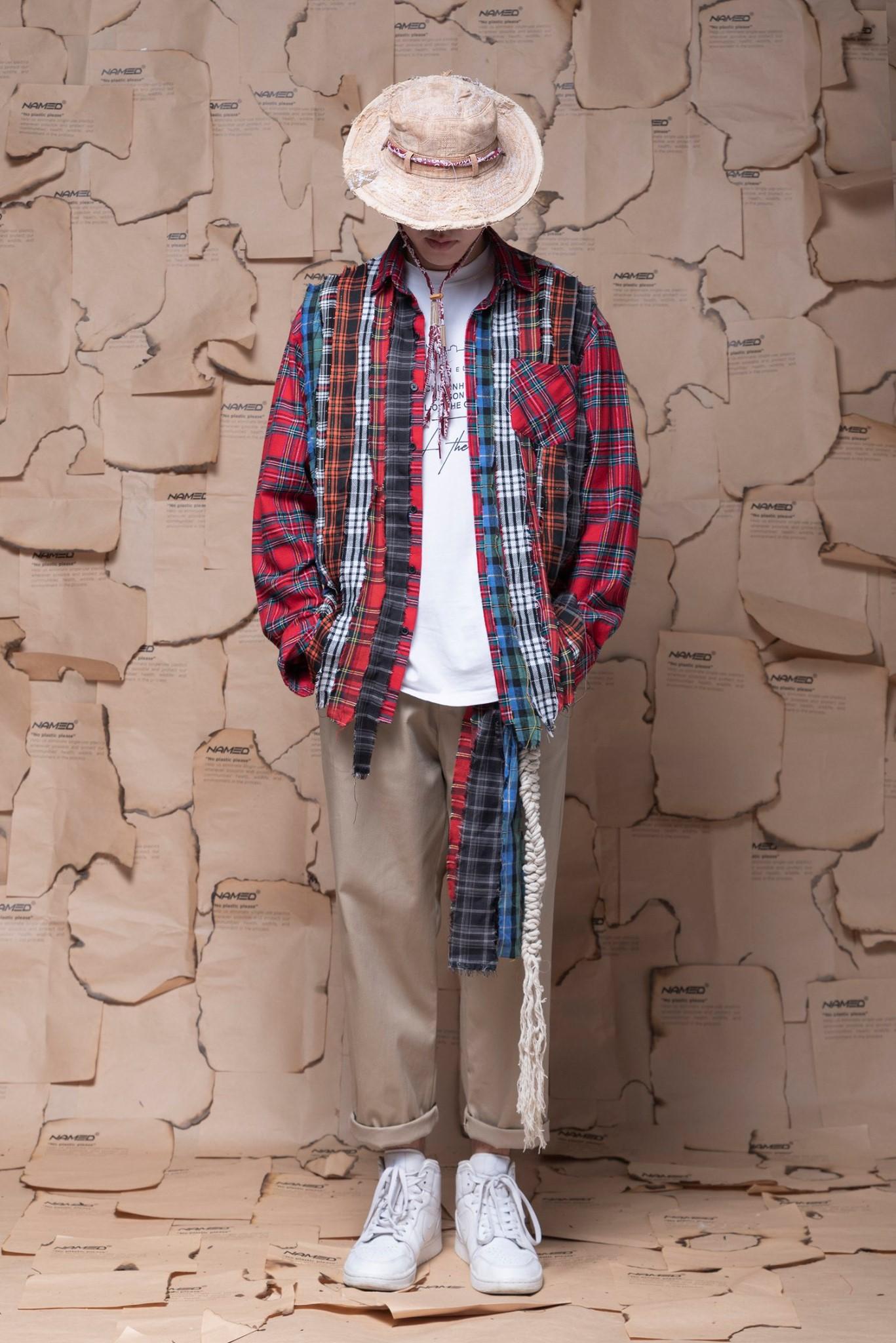 phoi do voi ao so mi flannel - named