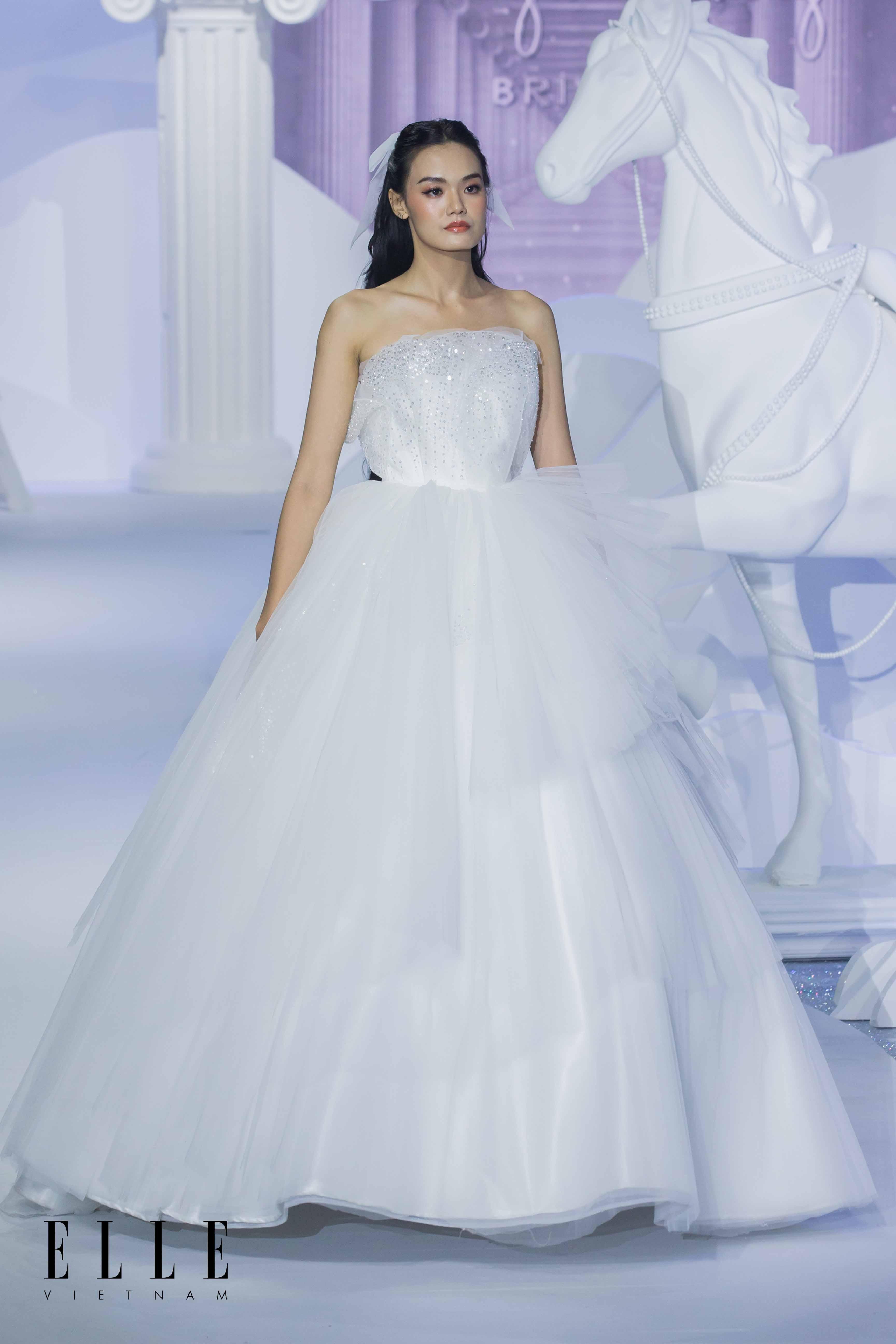 BST Dear My Princess áo cưới trắng