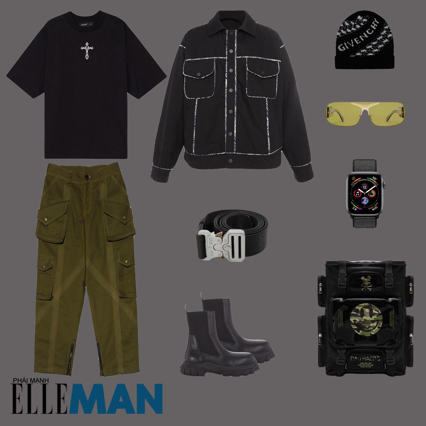 outfit 1 - phối đồ layer thu đông