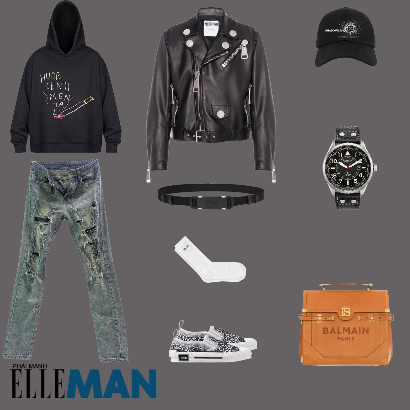 outfit 2 - phối đồ layer thu đông