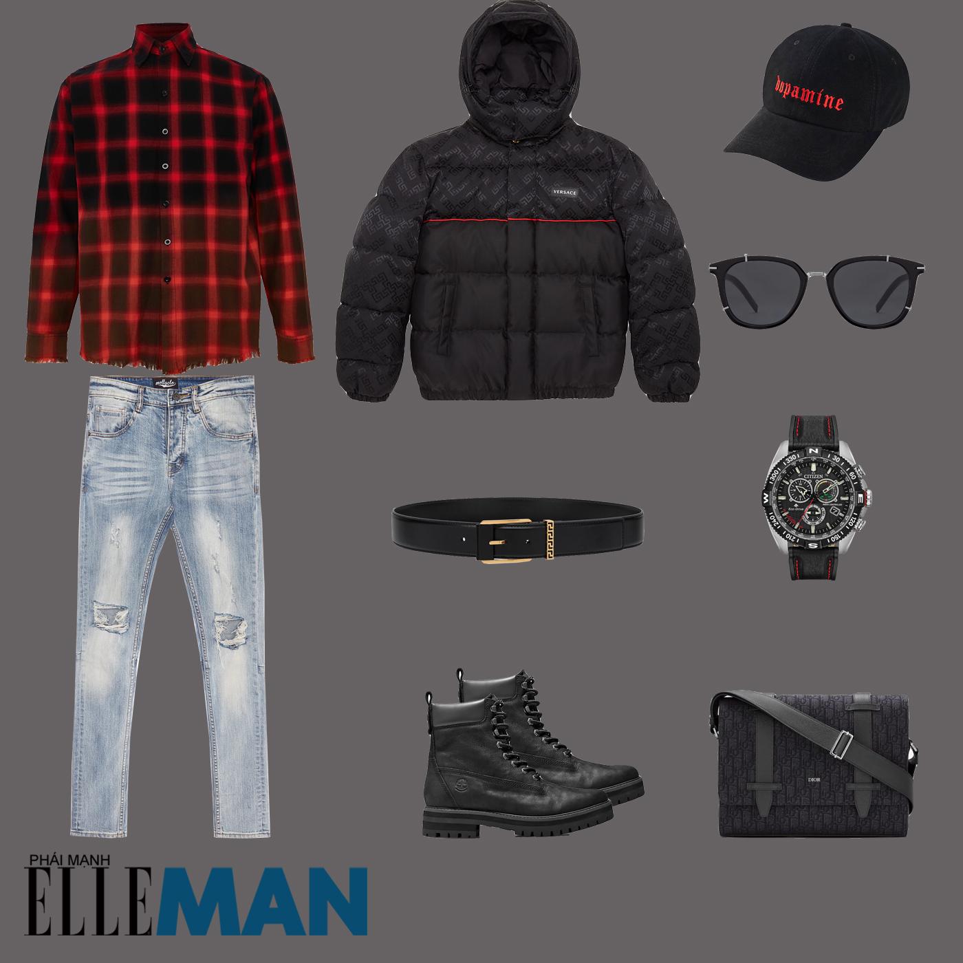 outfit 4 - phối đồ layer thu đông