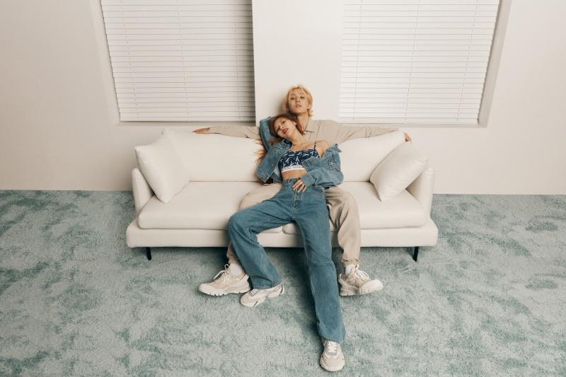 Calvin klein HyunA và E'Dawn