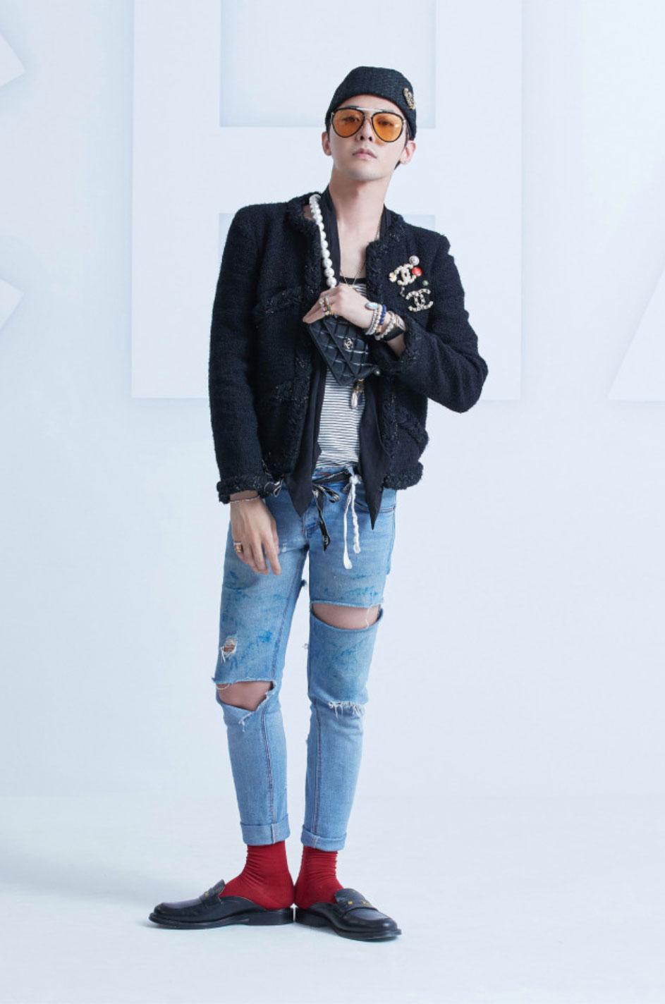 gdragon dự show diễn ra mắt BST Xuân Hè 2021 Chanel