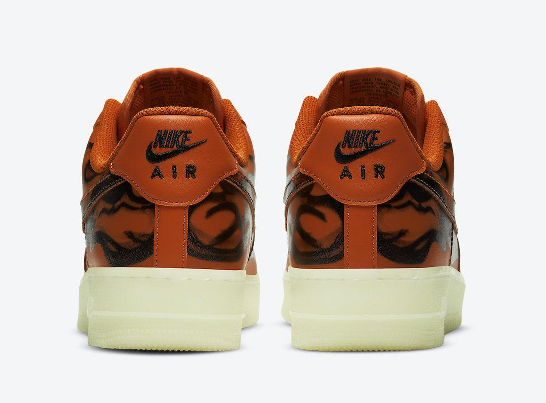 giay the thao hot tu 25-31.10.2020- Nike-Air-Force-1-Orange-Skeleton-CU8067-800-Release-Date (5)